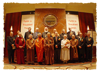 Promoting religious cooperation to bring peace and well-being to humanity